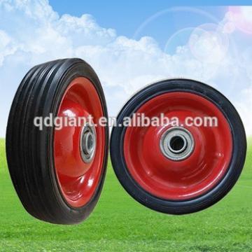 "5 inch small rubber caster wheel 5""x1.5"""