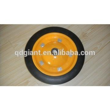 WheelBarrow Solid Rubber Wheel 13X3 With Steel Rim