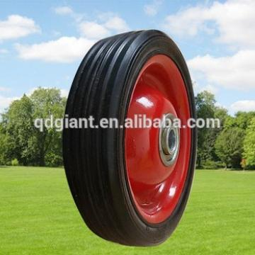 Small solid rubber tire for pressure washer