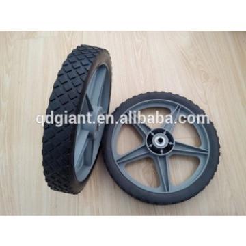 "12""x1.75"" Lawn mower plastic wheel"