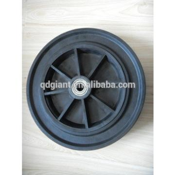 11inch solid rubber wheel