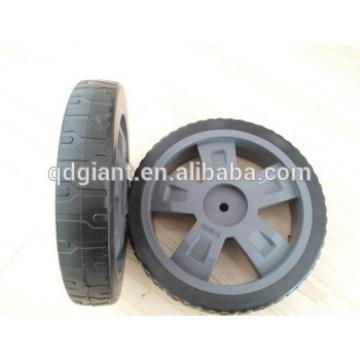 10x1.75 inch PVC plastic wheel for lawn mowers