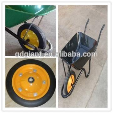 13x3 wheel barrow solid rubber wheel