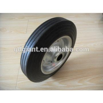 200mm solid rubber truck wheels with wheel steel centre load 200kg