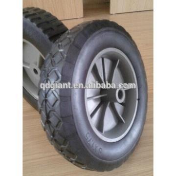 Qingdao supply small rubber wheel 200mm