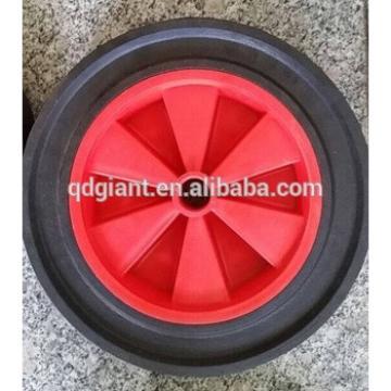 Semi-pneumatic rubber 12inch wheel