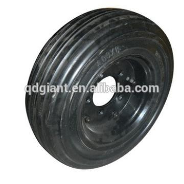 "16"" solid rubber agricultural wheel"