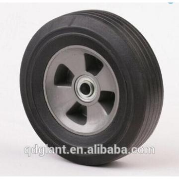 10 inch solid rubber wheel for hand truck