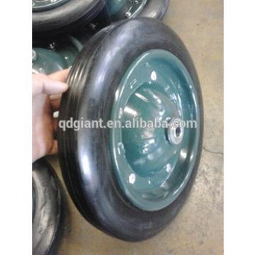 "13"" solid rubber tire for wheelbarrow"