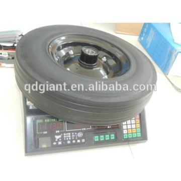 Heavy duty Mixers solid rubber tire 400x100