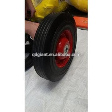 "10"" hard rubber tire"