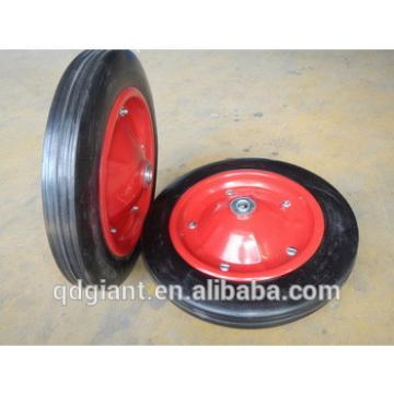 Construction wheel barrow rubber wheel 13 inch for WB3800