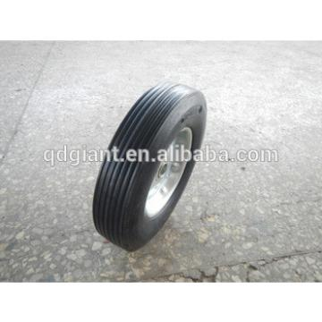"""Heavy Duty New Industrial 10"""" x 2.75"""" Solid Rubber and Metal Rim Wheel"""