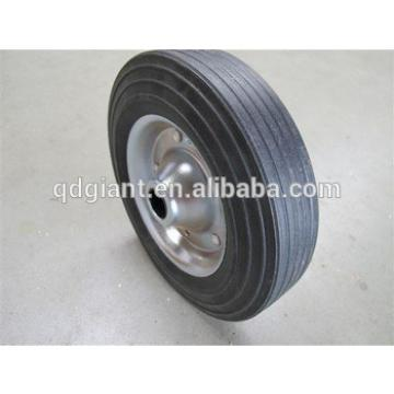 High quality solid rubber wheels 8x2 for barbecue cart