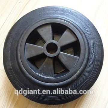 8 inch rubber tire for hand trolley , handcart
