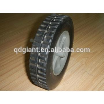 "8""x1.75"" kids wagon solid wheel with poly spoke"