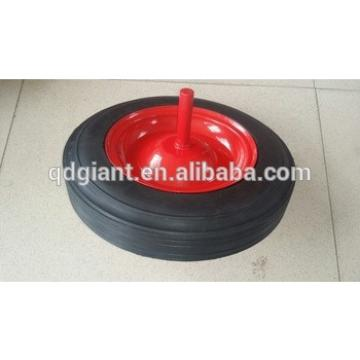 13 inch heavy duty solid wheel for wheelbarrow