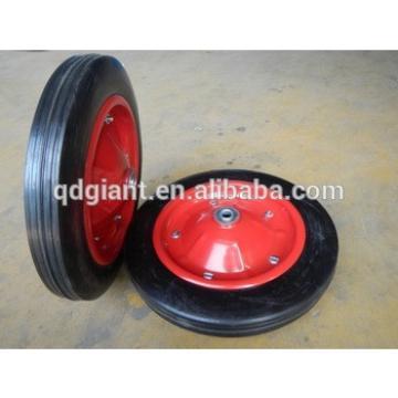 13 inch solid rubber garden cart wheel