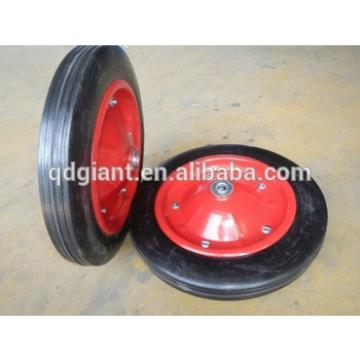 13 inch smooth solid rubber wheel