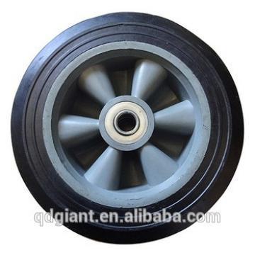 "8""x2.2"" plastic rim hand truck tyre"