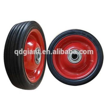 5x1.5 inches rubber solid small wheel