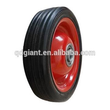 "5"" small rubber wheel /caster wheel for sale"