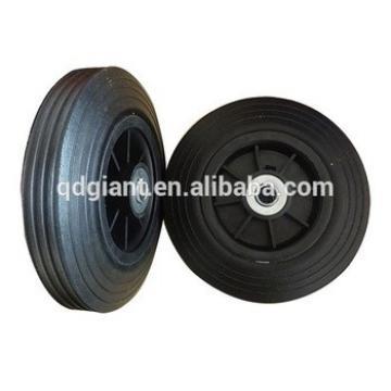 8 inch rubber hand trolley wheel