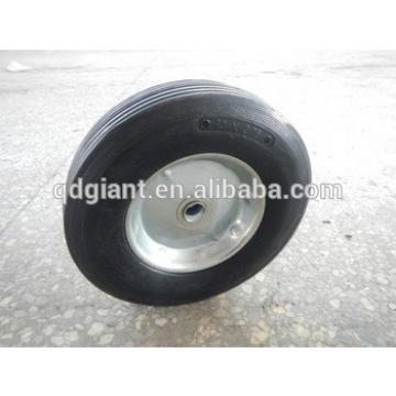 "semi-pneumatic lawnmower wheel 10x2.75"""