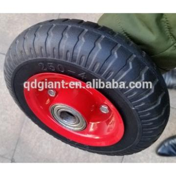 2.50-4 hand pallet truck rubber wheel