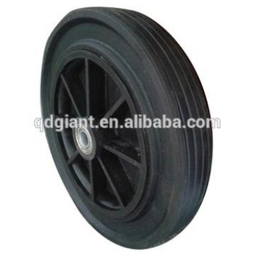 Heavy duty rubber wheel for machine