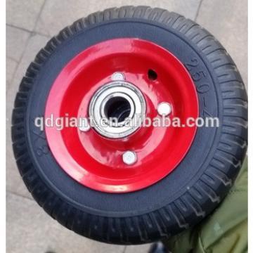 2.50-4 aluminum truck solid wheels