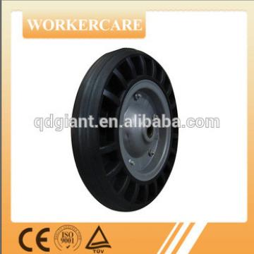 "13""x3"" wheel barrow solid rubber wheel"