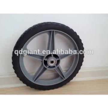 "12""x1.75"" Plastic Spoke Semi-Pneumatic Wheel"