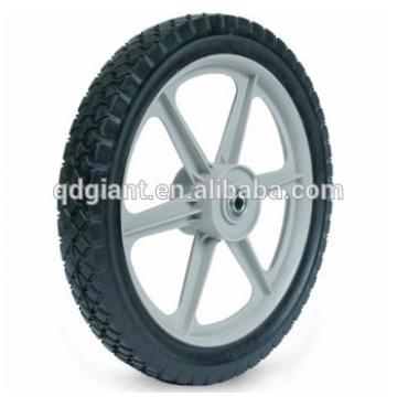 "12""x1.75"" rotary mowers plastic wheel"