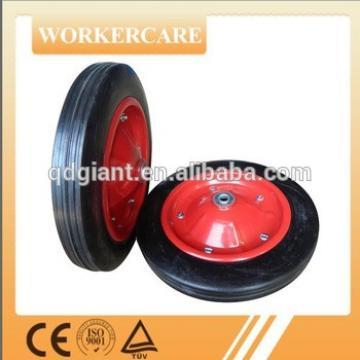 "13""x3"" wheel barrow solid rubber tire"