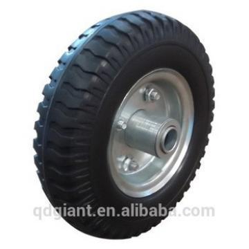 """250mm diameter Solid rubber wheel 8""""x2.50-4"""