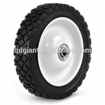 7X1.50 Light-Duty Plastic Wheel With Diamond Tread