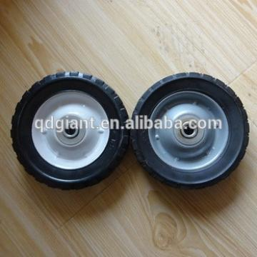 6inch solid rubber wheels for tool cart