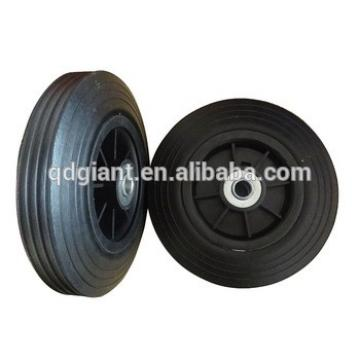 8inch 200mm solid rubber wheel