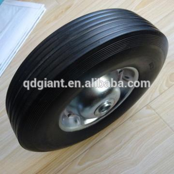 """10""""x2.5"""" rubber solid wheel"""