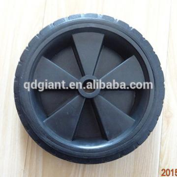 "6"" odorless rubber wheel"