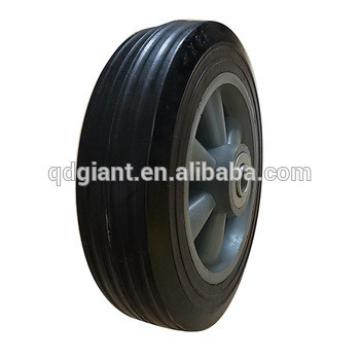 High quality solid rubber wheel 8x2 for barbecue cart