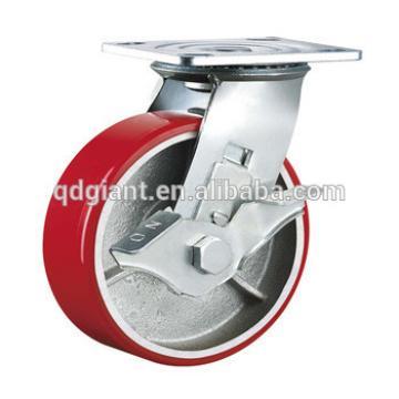 "6"" x2"" Castor wheel with brake"