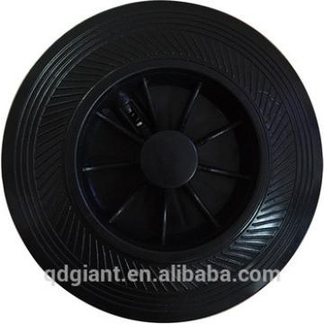 50L Plastic trash can 6inch wheel