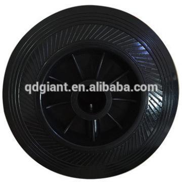 6 inch PU tyre &plastic rim trash bin wheels