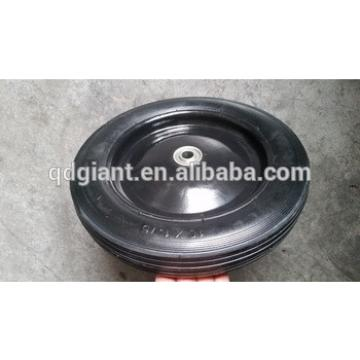 """10""""x1.75 lawnmover solid rubber wheel"""