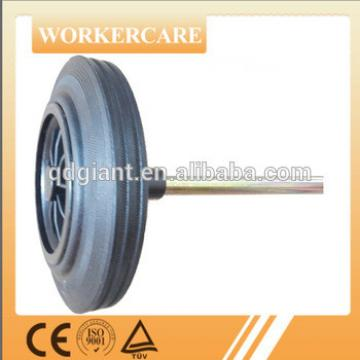 8 inch dustbin solid wheel with axle