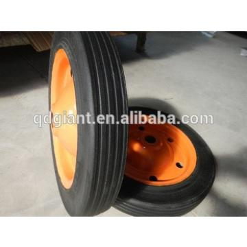13' solid rubber wheel