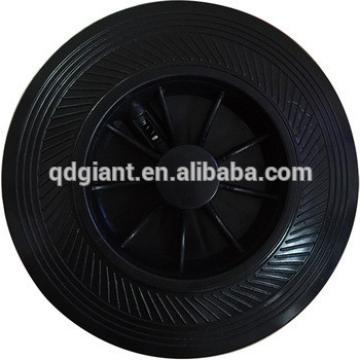 """6"""" 8"""" rubber wheels for plastic dustbin"""