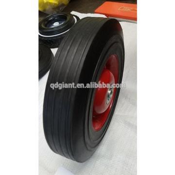 solid rubber wheel used in construction wheelbarrow
